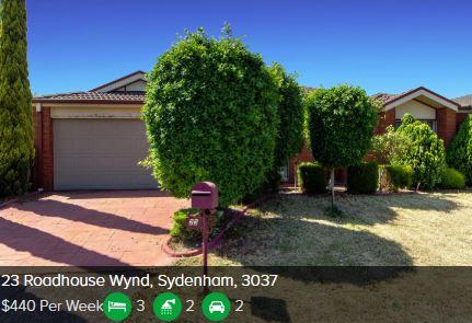 Rental appraisal Sydenham VIC 3037