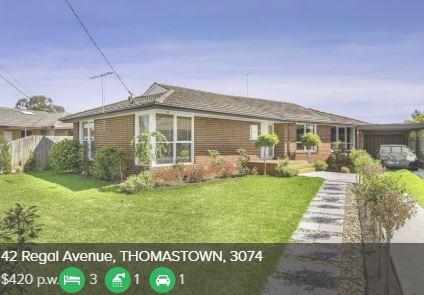 Rental appraisal Thomastown VIC 3074