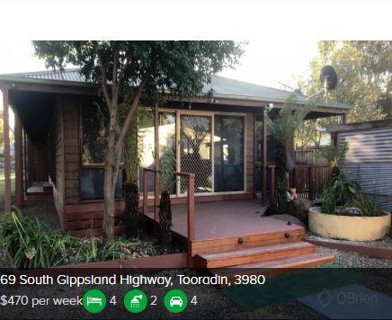 Rental appraisal Tooradin VIC 3980