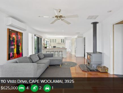 Property valuation Cape Woolamai VIC 3925
