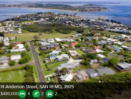 Property valuation San Remo VIC 3925