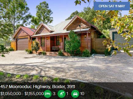 Real estate appraisal Baxter VIC 3911