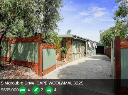 Real estate appraisal Cape Woolamai VIC 3925