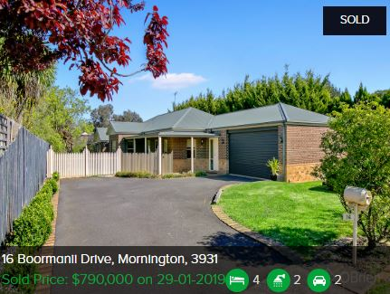 Real estate appraisal Mornington VIC 3931
