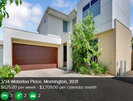 Rental appraisal Mornington VIC 3931