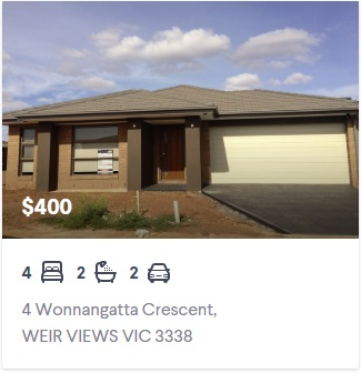 Rental appraisal Weir Views VIC 3338