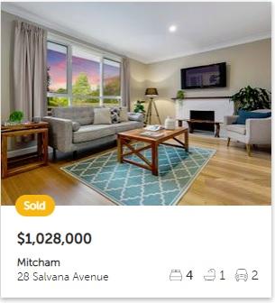 Property valuation Mitcham VIC 3132
