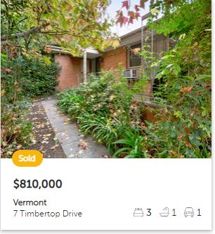 Property valuation Vermont VIC 3133