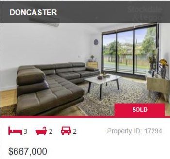 Real estate appraisal Doncaster VIC 3108