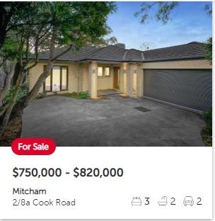 Real estate appraisal Mitcham VIC 3132