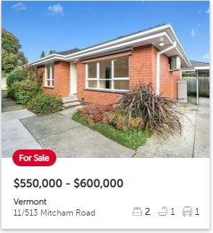 Real estate appraisal Vermont VIC 3133