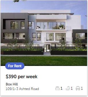 Rental appraisal Box Hill VIC 3128