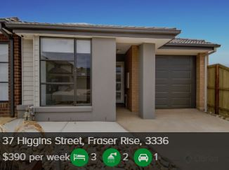 Rental appraisal Harkness VIC 3337