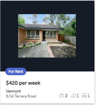 Rental appraisal Vermont VIC 3133