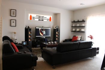 Setting up a home theatre system