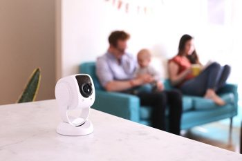 Indoor home security camera