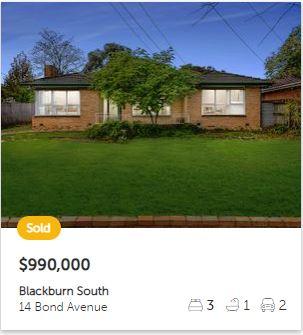 Real estate appraisal Blackburn South VIC 3130
