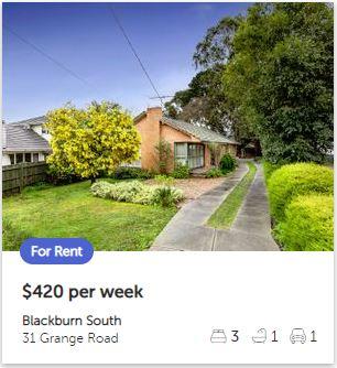 Rental appraisal Blackburn South VIC 3130