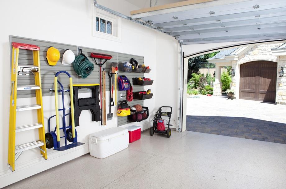 Storage solutions garage