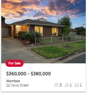 Real estate appraisal Werribee VIC 3030