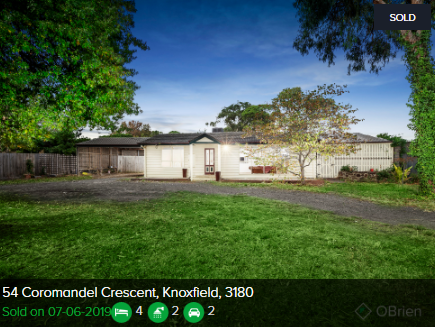 Real estate appraisal Knoxfield VIC 3180