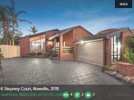 Real estate appraisal Rowville VIC 3178