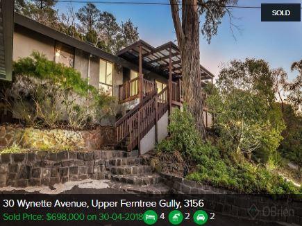 Real estate appraisal Upper Ferntree Gully VIC 3156