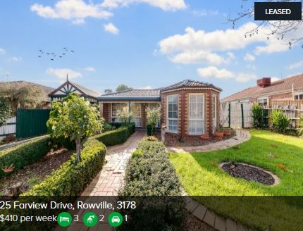 Rental appraisal Rowville VIC 3178