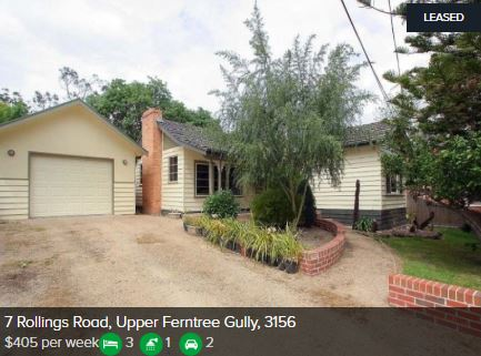 Rental appraisal Upper Ferntree Gully VIC 3156