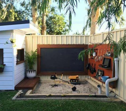 Childrens backyard ideas