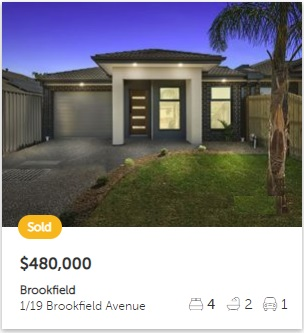 Property valuation Brookfield VIC 3338