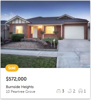 Property valuation Burnside Heights VIC 3023