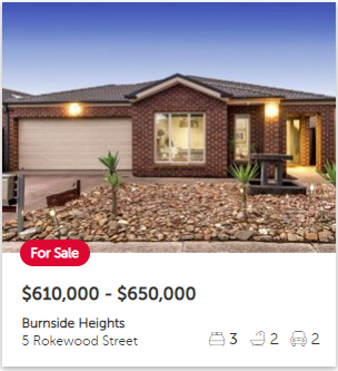Real estate appraisal Burnside Heights VIC 3023
