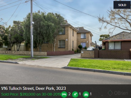 Real estate appraisal Deer Park VIC 3023