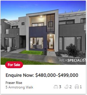 Real estate appraisal Fraser Rise VIC 3336
