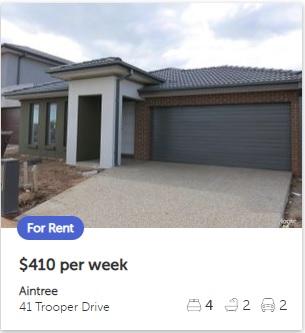Rental appraisal Aintree VIC 3336