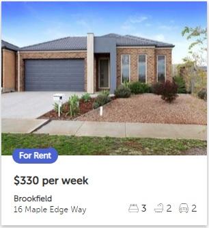 Rental appraisal Brookfield VIC 3338