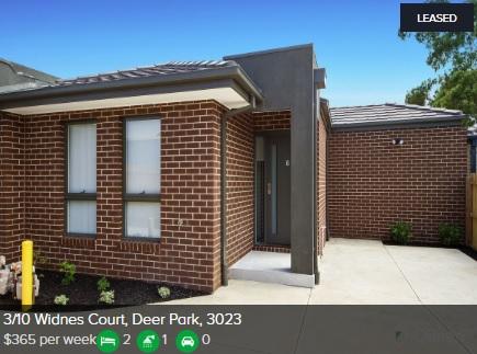Rental appraisal Deer Park VIC 3023
