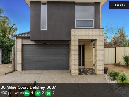 Rental appraisal Delahey VIC 3037
