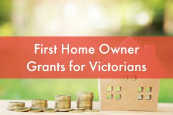 First home buyers Victoria