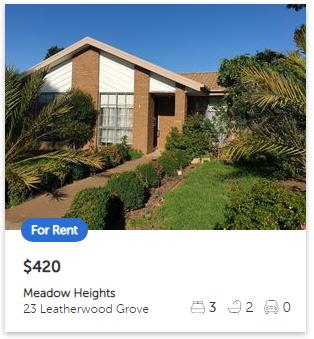 Rental appraisal Meadow Heights VIC 3048