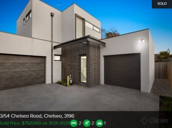 Property valuation Chelsea VIC 3196