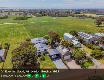 Property valuation Wimbledon Heights VIC 3922