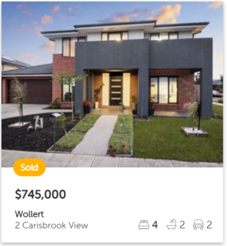 Property valuation Wollert VIC 3750