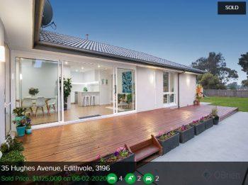 Real estate appraisal Edithvale VIC 3196