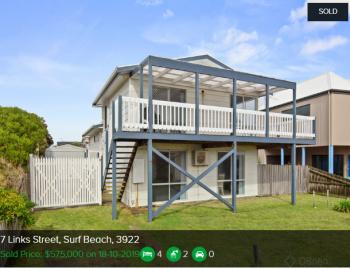 Real estate appraisal Surf Beach VIC 3922