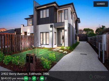 Rental appraisal Edithvale VIC 3196