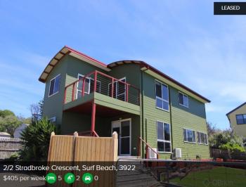Rental appraisal Surf Beach VIC 3922