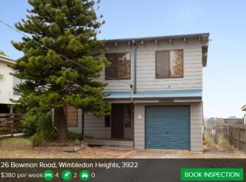 Rental appraisal Wimbledon Heights VIC 3922