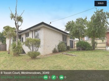 Property valuation Westmeadows VIC 3049